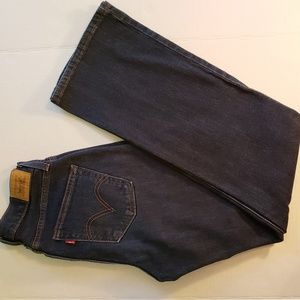 Levi curvy boot cut jean